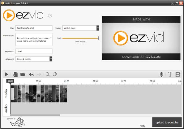 ezvid editar videos de 15 años