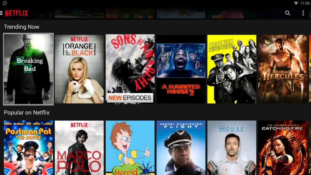 netflix app android tv box 2017