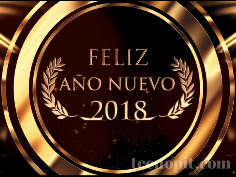 felicitacion de año nuevo 2018