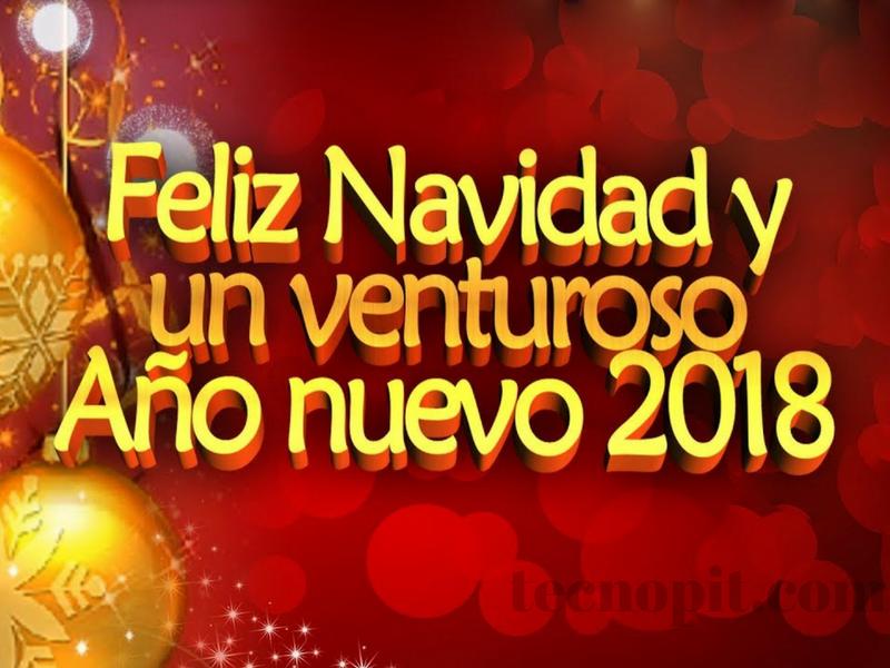 felicitacion tarjeta de año nuevo 2018 3